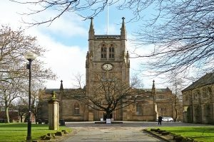 Blackburn Cathedral in Blackburn