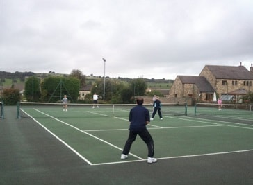 Crosshill Tennis Club in Blackburn